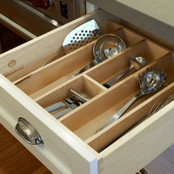 Portland Heights Kitchen - Utensil organization.