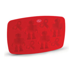 Fred Chillbots Ice Tray - Are you always on the go and feeling all wound up? Maybe it's time to kick back relax and chill. Pour yourself a nice beverage drop in a ChillBot and feel your motor unwind. No doubt about it - these mellow fellows are the key to cool times.