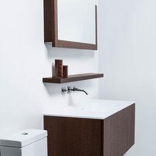Contemporary Bathroom Vanities And Sink Consoles by Blu Bathworks