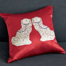 Pillows Porcelain Dog Pillow Cover