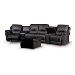 Patrick Home Theater Seating - Description: