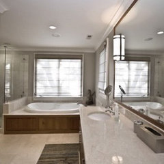 contemporary bathroom by Baxter Interiors