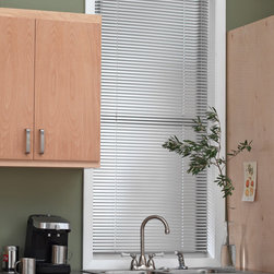 Blindsgalore - Blindsgalore Horizontal Blinds: 1-inch 8-Gauge Aluminum Privacy - Blindsgalore Aluminum Privacy blinds feature specialized cord route holes that provide additional privacy and light blocking.