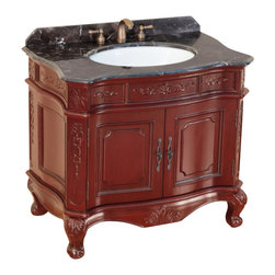 "Bosconi - Bosconi T-3803 37"" Classic Single Vanity - Bosconi T-3803 37"" Classic Single Vanity"