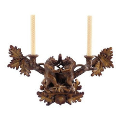 EuroLux Home - 2-Candle Wall Sconce Dancing Bears Bear - Product Details