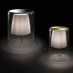 Rebecca 10 Table Lamp By Modiss Lighting - Rebecca 10 and Rebecca 20 by Modiss are a series of table lamps which are also available as two pendant fixtures.