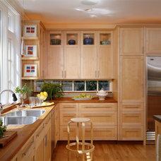 Contemporary Kitchen by Benvenuti and Stein