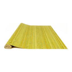 Bamboo Panel Raw Green 4' H X 8' L - Bamboo Panels Raw Green 4' H X 8' L