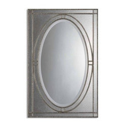 Earnestine Oversized Decorative Wall Mirror - 28.5W x 43.5H in.
