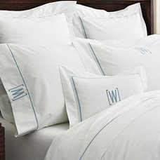 contemporary sheets by Williams-Sonoma Home