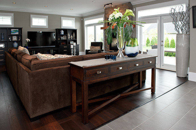 Traditional Living Room by The Spotted Frog Designs