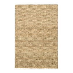 """Loloi Rugs - Loloi Rugs Eco Collection - Natural, 7'-9"""" x 9'-9"""" - Once just a niche for the environmentally conscious, natural fiber rugs like the Eco Collection have become a popular choice for their raw elegance. Hand woven of 100% jute from India, Eco delivers a fashionable and easy-to-place look at a value price."""