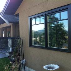 Contemporary Windows by Black Windows