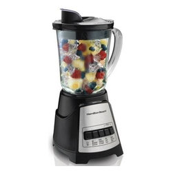 Hamilton Beach - POWER ELITE MULTI-FUNCTION - BLENDER 40 OZ GLASS JAR             This item cannot ship to APO/FPO addresses.  Please accept our apologies.