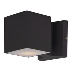 Maxim Lighting - Maxim Lighting 86107Abz Lightray 2-Light Led Wall Sconce - Maxim Lighting 86107ABZ Lightray 2-Light LED Wall Sconce