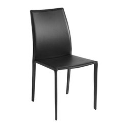 Nuevoliving - Nuevo Living Sienna Dining Chair - Black - Features:
