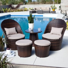 Tropical Outdoor Lounge Sets by Hayneedle