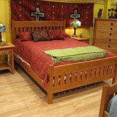 Beds by Boulder Furniture Arts