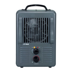 Portable Utility Heater with Thermostat