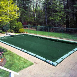 Robelle - Robelle Rectangular Pool Supreme Cover Multicolor - 371624R - Shop for Pool Accessories from Hayneedle.com! Your pool will stay secure and protected all year long with the Robelle Rectangular Pool Supreme Cover. This durable cover is made with a strong poly material with a green top that inhibits light and a black bottom that inhibits algae growth. Its generous size is designed with an overlap to keep your pool protected from the elements. Aluminum grommets line the rim and a threaded plastic coated cable lets you tighten down the cover with the integrated ratchet lock system.
