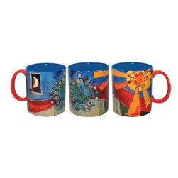 """Westland - 4 Inch """"Come Together"""" Ceramic Coffee Multicolor Mug, Holds 14 Ounces - This gorgeous 4 Inch """"Come Together"""" Ceramic Coffee Multicolor Mug, Holds 14 Ounces has the finest details and highest quality you will find anywhere! 4 Inch """"Come Together"""" Ceramic Coffee Multicolor Mug, Holds 14 Ounces is truly remarkable."""