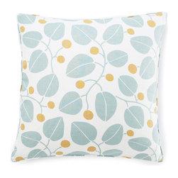 Jiti - Jiti Bethe Leaves Linen Pillow - Features: