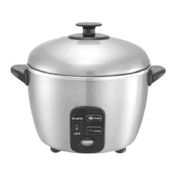 Sunpentown - Sunpentown SC-887 6 Cup Stainless Steel Rice Cooker and Steamer Multicolor - SC- - Shop for Rice Cookers and Steamers from Hayneedle.com! Cook a variety of healthy dishes at the touch of a button with the Sunpentown SC-887 6 Cup Stainless Steel Rice Cooker and Steamer at your disposal. This 6-cup rice cooker is compact and easy to use with its one-button operation.Features:Stainless steel inner pot and coverAutomatic shut-off and independent Warm switchAutomatically switches to Warm (when Warm mode is turned on)Cooks with steam to maintain nutrientsSaves up to 18% in energy costsOperates on 535 watts of powerETL-listedDimensions: 10L x 10W x 9.75H inchesAbout SunpentownSunpentown International designs and manufactures small home appliances for convenient kitchen use. Sunpentown is the largest single producer of induction cooktops in the world controlling over 70% of the domestic market. Aiming to stay at the forefront of induction technology Sunpentown is proud to introduce a new line of uniquely competitive built-in and Wok induction cooktops to appeal to the increasingly global market of the 21st century.