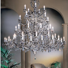 Traditional Chandeliers by Build