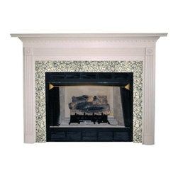 Agee Woodworks Sienna Wood Fireplace Mantel Surround - About This Fireplace MantelThe classic look of the Agee Woodworks Sienna Wood Fireplace Mantel Surround is a sure way to add some elegance to your home. Assembly is a snap since most of it is complete out of the box. The final choices are left up to you this mantel ships unfinished ready to paint or stain and install. Choose between birch or oak solids in a wide selection of custom-cut sizes.About Agee Woodworks Inc.Ashland Va.'s Agee Woodworks Inc. focuses on three key manufacturing aspects: service quality and customization. Each handcrafted Agee fireplace mantel is made to order by one specific craftsman - and with a variety of value and custom options there's one for every budget. The highest-quality materials used - and individualized construction process during which a mantel's legs header and shelf are applied to a specified-size frame - ensure long-lasting one-of-a-kind products. Mantels can be primed painted or stained before delivery or can be shipped unfinished so customers can finish them at home.