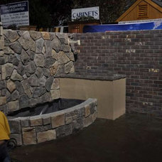 Landscaping Stones And Pavers by RediPour Wall Systems