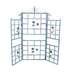 Oakland Living - Oakland Living 3 Piece Patio Trellis in Verdi Grey - Oakland Living - Trellises - 5146VGY - About This Product: