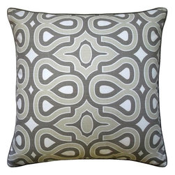 5 Surry Lane - HGTV Quartz Modern Turtleshell Pillow - Vivify your space with this bold curvaceous patterned pillow. Crafted in a palette of juicy colors, the pillow is sure to add a dash of pattern and pep.  Same fabric front and back.  Down feather insert included.  Hidden zipper closure.  Made in the USA.