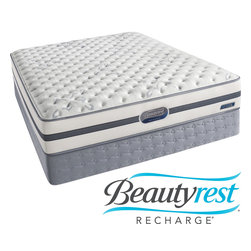 Simmons Beautyrest - Beautyrest Recharge Issa Plush Full-size Mattress Set - With its layers of support, this comfortable full-size mattress set will help you sleep well throughout the night and wake up refreshed. Its coils adjust to your body, providing back support. The foam is ventilated to keep you cool as you sleep.