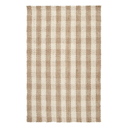"""Surya - Hand Woven Country Jutes Rug CTJ-2018 - 2'6"""" x 4' - Another inspired ensemble from Country Living, the Country Jutes Collection exemplifies the essence of casual style. Hand-woven from all natural jute in monochromatic shades of beige, each rug combines fibers to create a variety of patterns that exude a simple elegance ideal for traditional to transitional interiors."""
