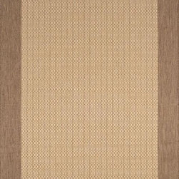 Home Decorators Collection - Checkered Field Area Rug - Inspired by popular sisal rugs, the Checkered Field Area Rug offers the look and texture of a natural fiber rug, plus all-weather durability. This synthetic rug is unaffected by moisture and does not fade, making it easy to care for and perfect for your patio or kitchen. Order your outdoor rug today from the Lanai Collection.Synthetic wool-like fiber resists stains, mold and mildew.Easy to clean; simply spray with a hose.