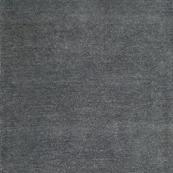 "Loloi Rugs - Loloi Rugs Dawson Collection - Slate, 3'-6"" x 5'-6"" - Featuring the finest New Zealand wool and touches of viscose for luxurious shine, the Dawson Collection is both ultra comfortable and sophisticated. These plush, tonal rugs pair effortlessly with surrounding decor while offering a luxurious presence of their own. With colors like Platinum, Slate, Silver, and Champagne, there's a sleek option for any room."