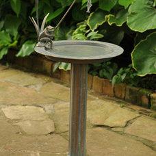 Traditional Bird Baths by Charleston Gardens