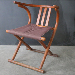 Vintage Wooden Folding Chair -