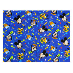 "SheetWorld - SheetWorld Fitted Sheet (Fits BabyBjorn Travel Crib Light) - Mickey Mouse Blue - - This 100% cotton woven"" travel crib light (fits babybjorn) sheet features the one and only Mickey Mouse & Friends! Our sheets are made of the highest quality fabric that's measured at a 280 tc. That means these sheets are soft and durable. Sheets are made with deep pockets and are elasticized around the entire edge which prevents it from slipping off the mattress- thereby keeping your baby safe. These sheets are so durable that they will last all through your baby's growing years. We're called sheetworld because we produce the highest grade sheets on the market.  Size: 24 x 42. Not a BabyBjorn®product.  Sheet is sized to fit the BABYBJORN® crib.  BabyBjorn® is a registered trademark of BabyBjorn AB."""