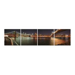 Elementem Photography - Manhattan Bridges in Four Print - Mounting Instructions: