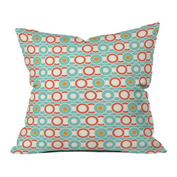 Heather Dutton Ring A Ding Outdoor Throw Pillow - Do you hear that noise? it's your outdoor area begging for a facelift and what better way to turn up the chic than with our outdoor throw pillow collection? Made from water and mildew proof woven polyester, our indoor/outdoor throw pillow is the perfect way to add some vibrance and character to your boring outdoor furniture while giving the rain a run for its money.