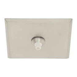 Fast Jack LED 4 Inch Square Canopy by Edge Lighting -