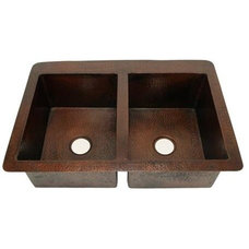 Rustic Kitchen Sinks by Artisan Crafted Home