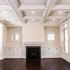 Craftsman Living Room by Cloud IX Homes, LLC