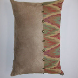Canaan Company - 14x20 Lumbar Accent Pillow - - Woven Damask  - 100% Poly  - Spot Clean Or Dry Clean Canaan Company - P-181-C