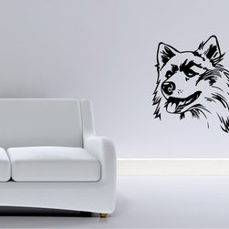 StickONmania - Cute Dog Drawing Sticker - A cool vinyl decal wall art decoration for your home Decorate your home with original vinyl decals made to order in our shop located in the USA. We only use the best equipment and materials to guarantee the everlasting quality of each vinyl sticker. Our original wall art design stickers are easy to apply on most flat surfaces, including slightly textured walls, windows, mirrors, or any smooth surface. Some wall decals may come in multiple pieces due to the size of the design, different sizes of most of our vinyl stickers are available, please message us for a quote. Interior wall decor stickers come with a MATTE finish that is easier to remove from painted surfaces but Exterior stickers for cars,  bathrooms and refrigerators come with a stickier GLOSSY finish that can also be used for exterior purposes. We DO NOT recommend using glossy finish stickers on walls. All of our Vinyl wall decals are removable but not re-positionable, simply peel and stick, no glue or chemicals needed. Our decals always come with instructions and if you order from Houzz we will always add a small thank you gift.