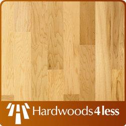 "5"" x 5/16"" White Oak Natural Engineered Hardowood Flo -"