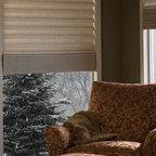 Hunter Douglas Vignette® Tiered™ Architella® Shades - Hunter Douglas Vignette® Tiered™ Architella® Shades