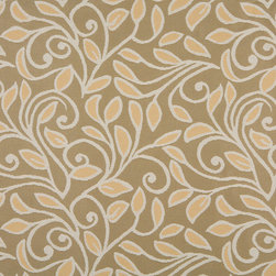 Gold Beige And Tan Vines And Leaves Indoor Outdoor Upholstery Fabric By The Yard - P101013 is great for residential and commercial applications, and can be used outdoors and indoors. This fabric will exceed at least 35,000 double rubs (15,000 is considered heavy duty), and is easy to clean and maintain. In addition, this product is stain, water, mildew, bacteria and fade resistant. For superior quality and performance, this fabric is woven and solution dyed.