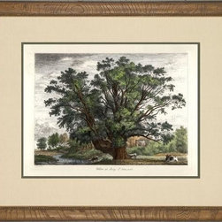 Jacob George Strutt - New Consigned Antique Botanical Tree With Cattle - Product Details